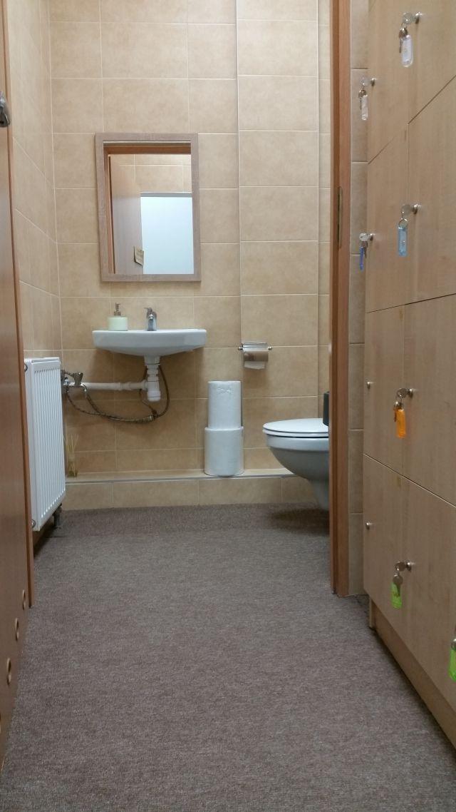 Zawsze zadbane toaleta i szatnia 😊