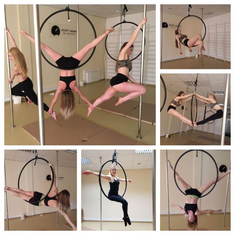 Aerial hoop dla tych, którzy chcą wznieść się w powietrze i poczuć lekko 🐦 🐤