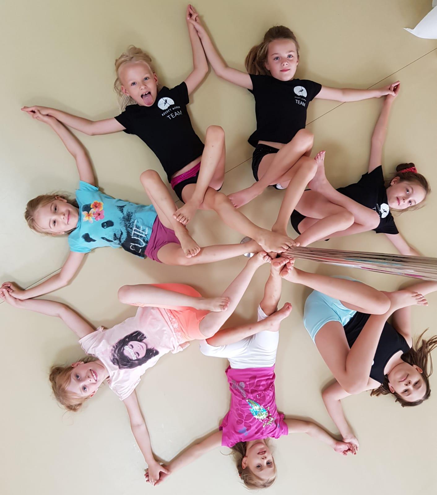 Pole kids w komplecie i w znakomitych nastrojach 😊