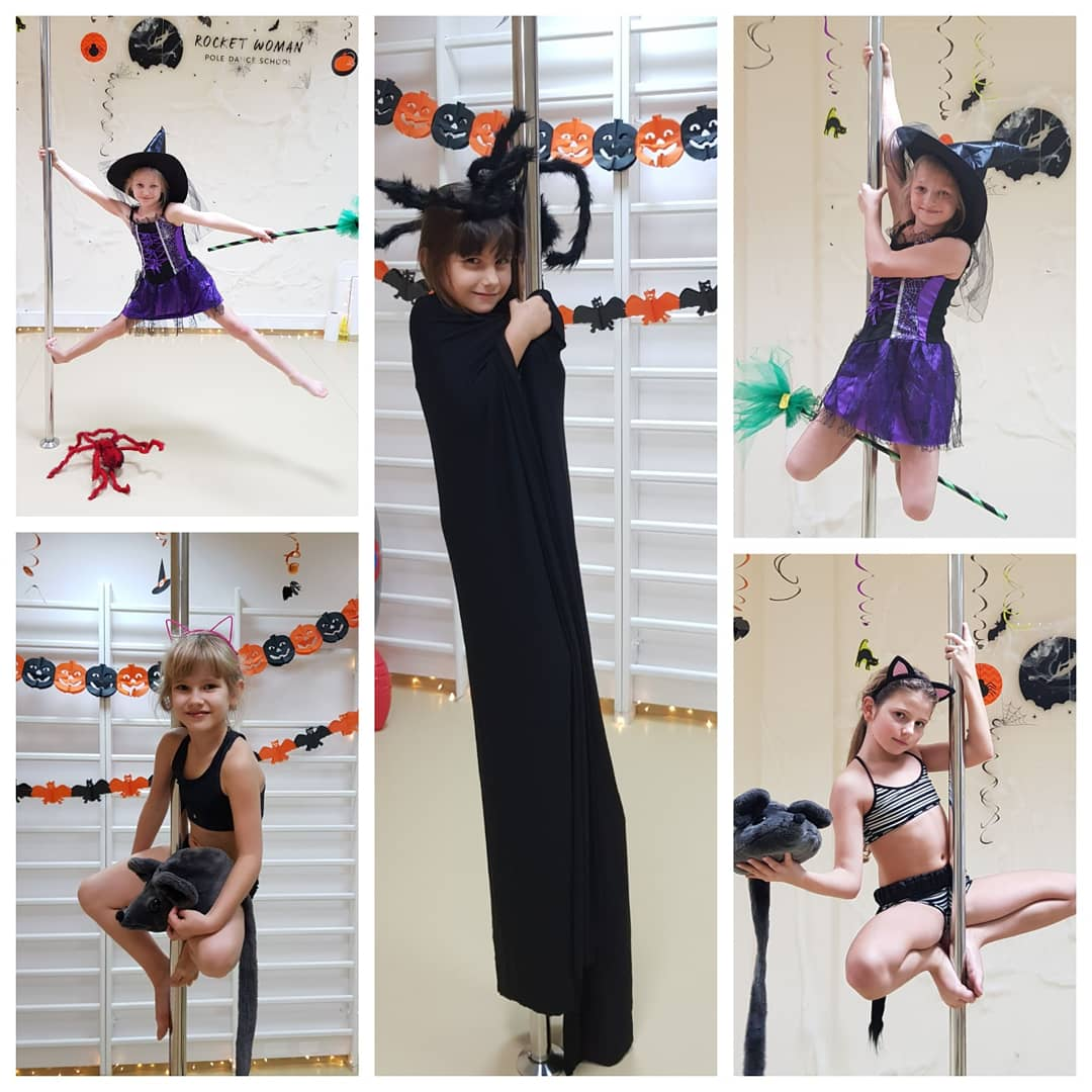 Halloween 2018 - pole sport kids 👻 🧛‍♀️