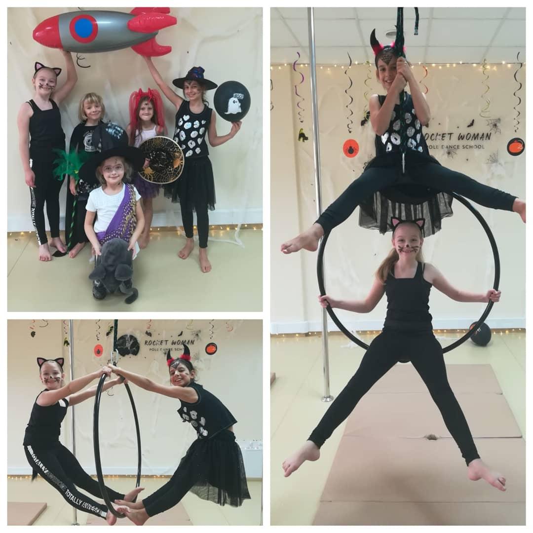 Halloween 2018 - aerial hoop kids 👻 🧛♀️