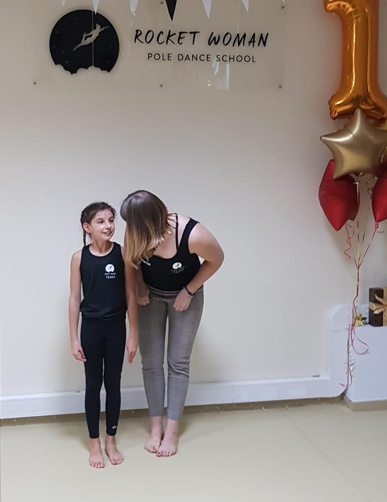 Pierwsze urodziny szkoły - instruktorka Ania z podopieczną 🎉 ✨