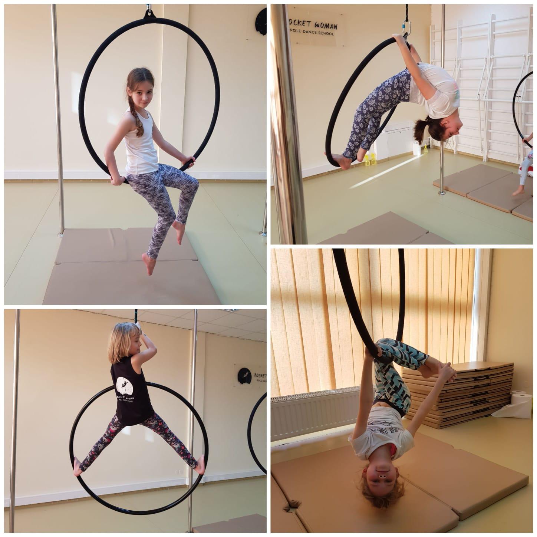 Tyle energii Twojego dziecka nie spożytkuje nic poza naszym aerial hoopem 🐒 😅