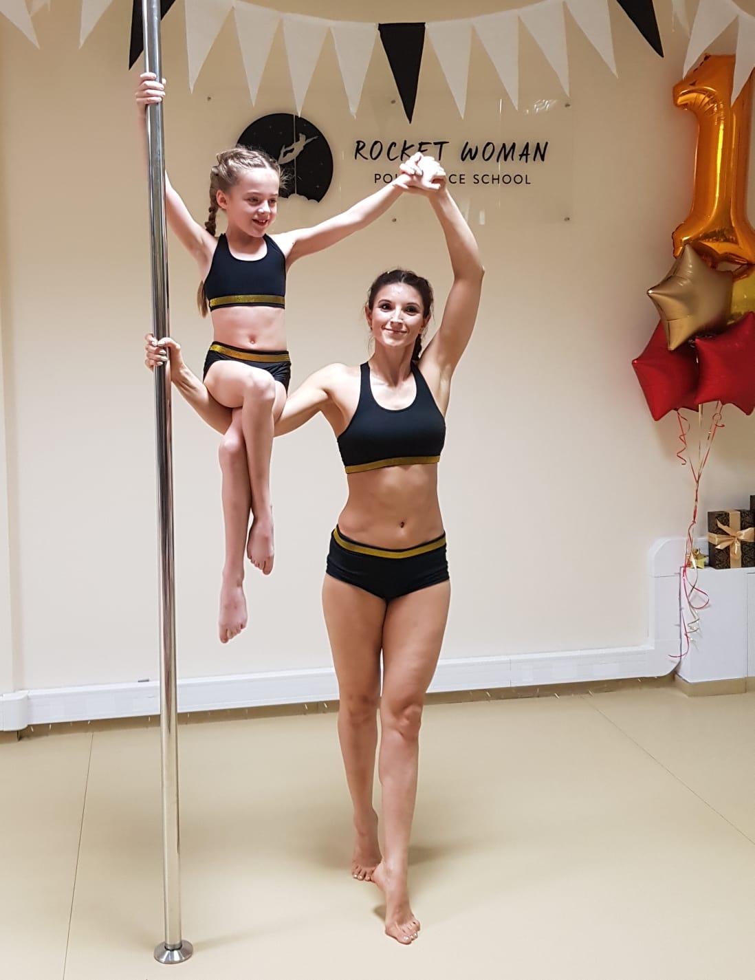Pierwsze urodziny szkoły - instruktorka Agnieszka i jej podopieczna Pola 🎉 ✨
