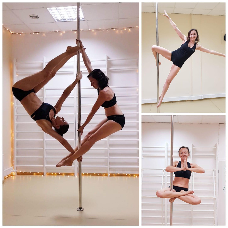 Marcelina - pole dance grupa średnio zaawansowana 😊 💕