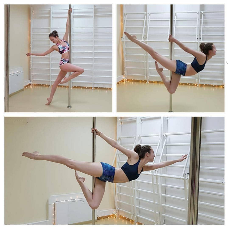 Ania - pole dance grupa średnio zaawansowana 😊 💕