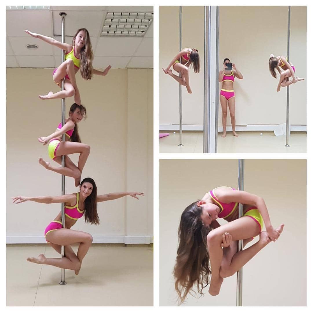 Grupa pole dance kids z instruktorką Agnieszką ⭐️