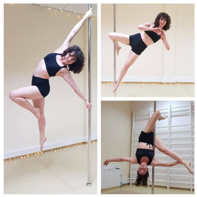 Zuza - pole dance grupa średnio zaawansowana 😊 💕