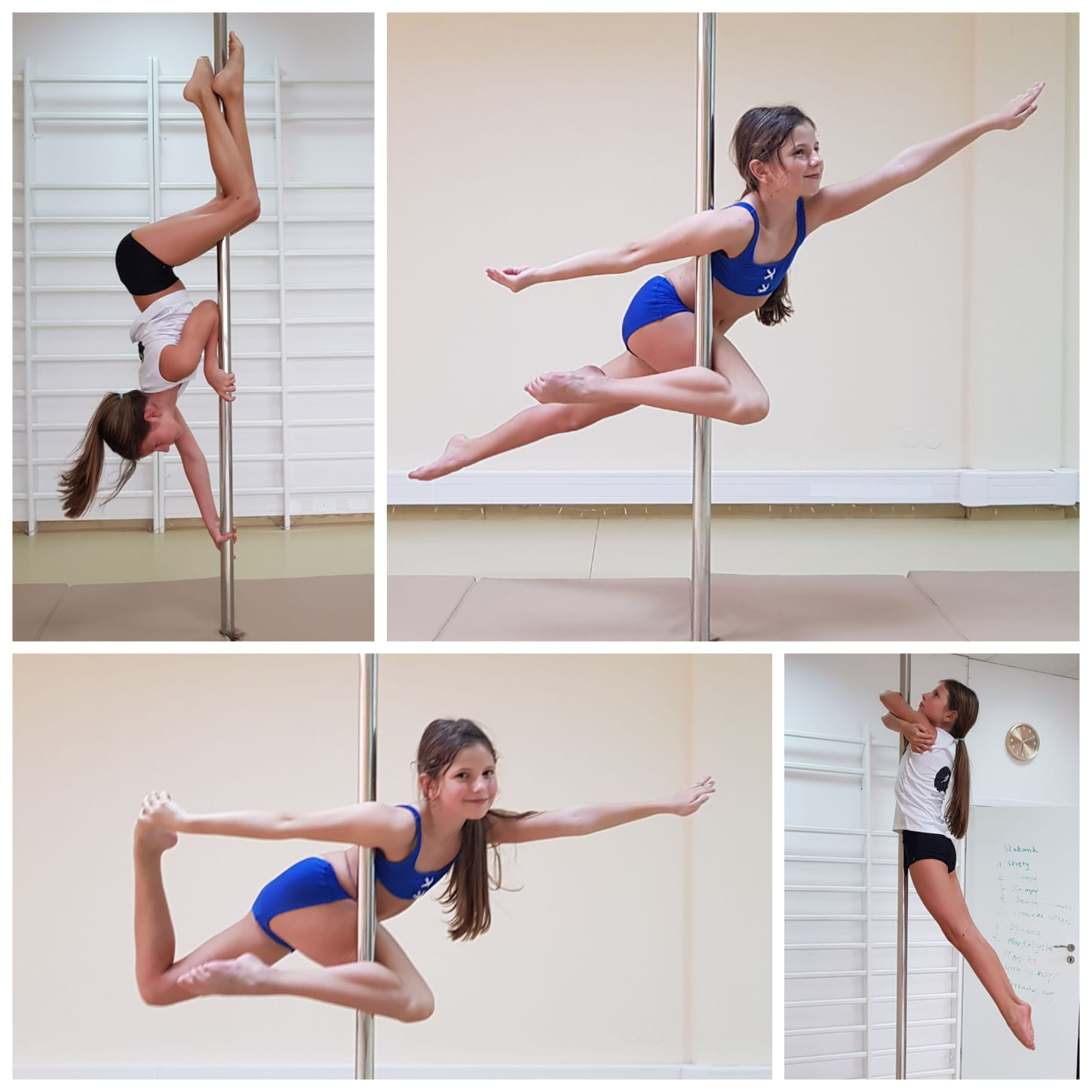 Aniela - pole dance kids 😊 💕