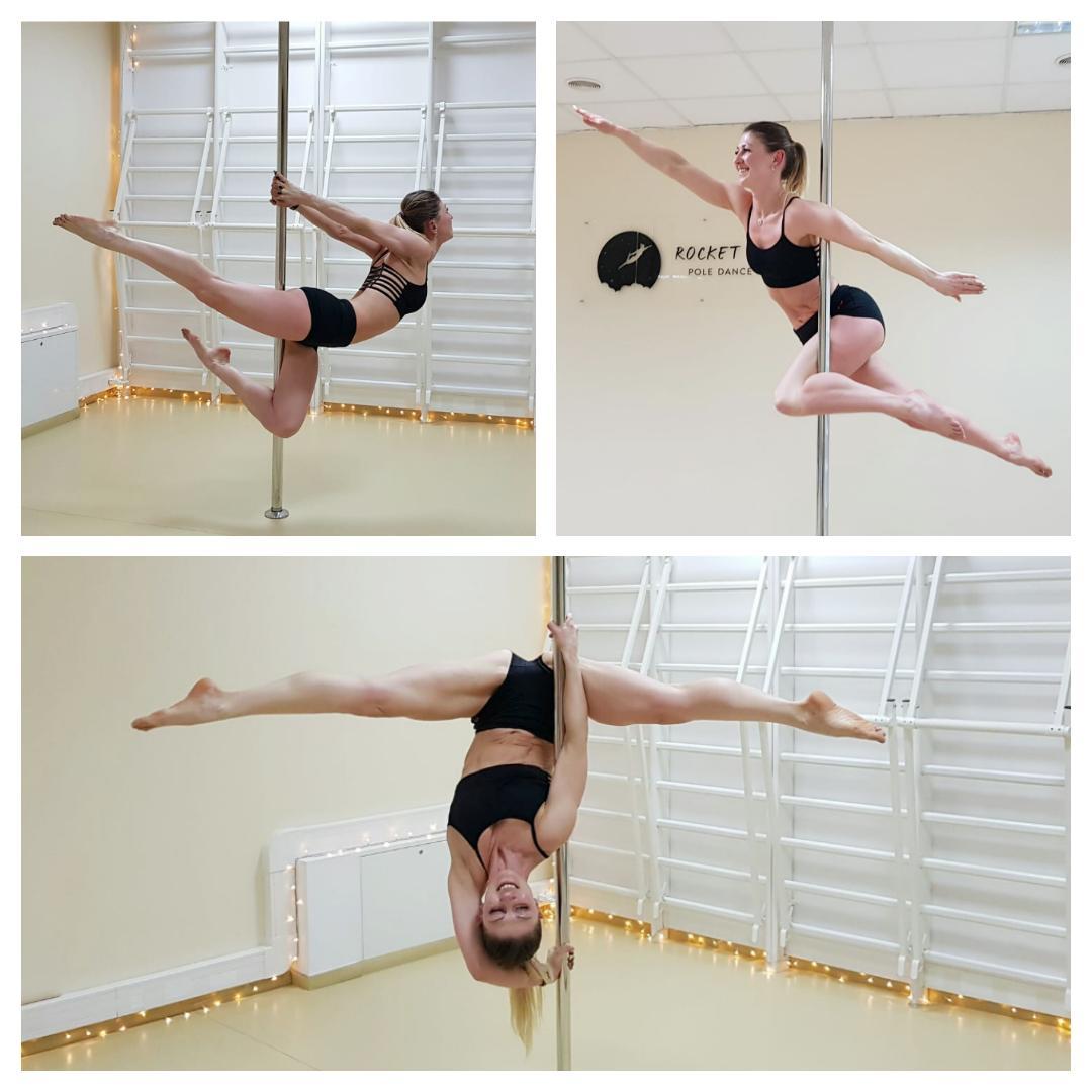 Marta - pole dance grupa średnio zaawansowana 😊 💕