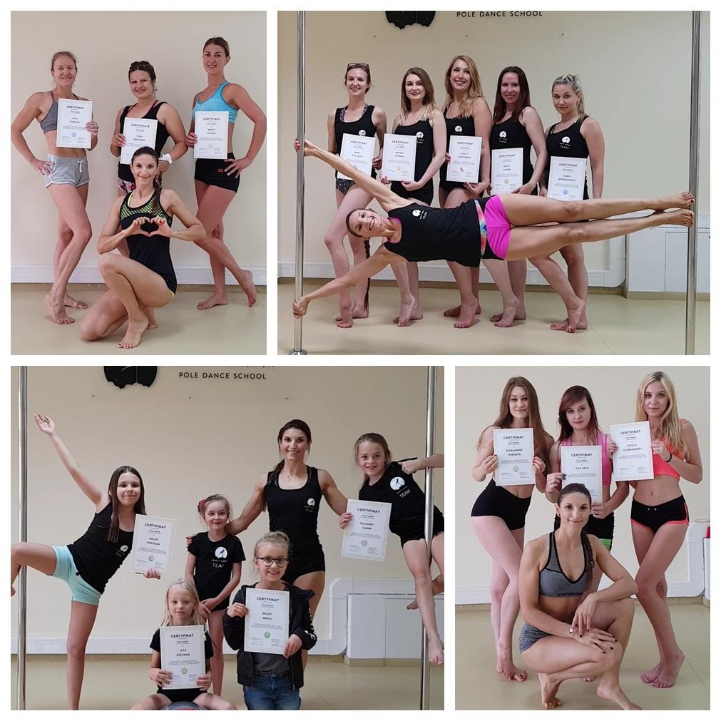 Pierwsze certyfikaty w Rocket Woman Pole Dance School zostały już wydane! 😊 💕